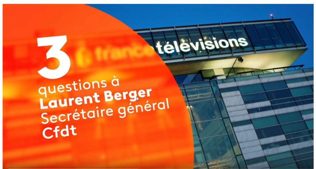 Questions à Laurent Berger, FTV